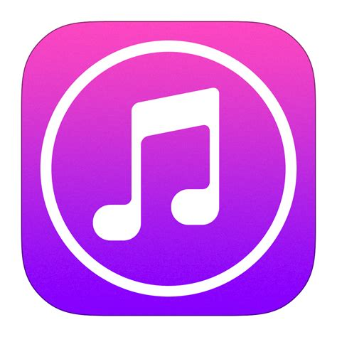 itunes app for iphone itunes icon ios7 style iconset iynque