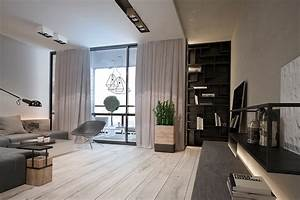 A, Chic, Pair, Of, Interiors, With, Natural, Neutral, Design