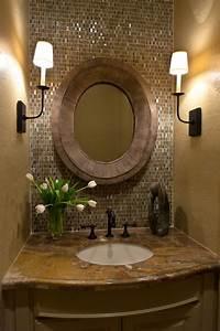 Designs to share powder room bathroom design by carla aston