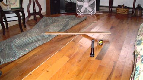 how to fix a leak under the buckling hardwood floors above vented crawl spaces ask