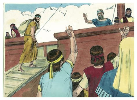Filebook Of Jonah Chapter 12 (bible Illustrations By