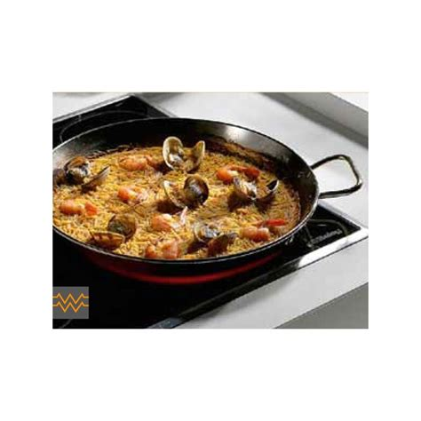 plat  paella pata negra induction emaille cm