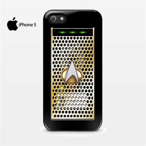 Cubes Cove Hardcase Iphone 4 new trek communicator phone logo iphone 5 5s