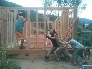 Comment Fixer Un Poteau Bois Au Sol : mur de soutenement et ossature sous sol la maison en ~ Dailycaller-alerts.com Idées de Décoration