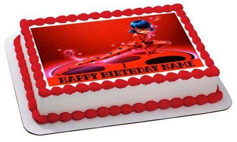 miraculous ladybug wiki edible cake topper cupcake