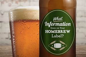 what information goes on your homebrew label stickeryou With custom homebrew labels