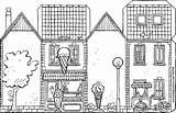Ice Cream Parlour Colouring Shops Own Kiddicolour Drawing sketch template