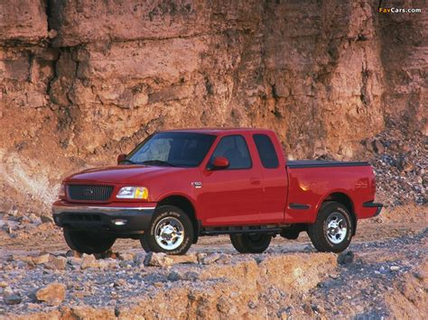 Dfsk Supercab Wallpaper by Ford F 150 Supercab Flareside 1999 2003 Wallpapers 1024x768