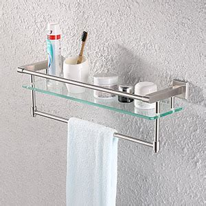 amazoncom kes sus stainless steel bathroom glass