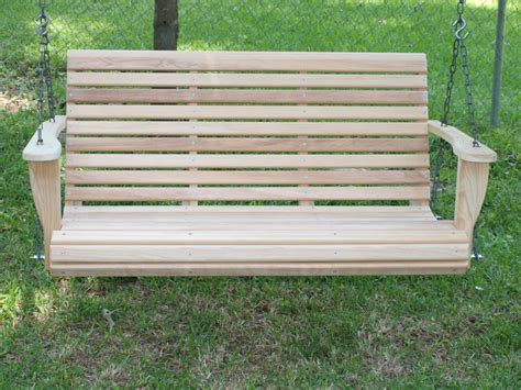foot classic cypress porch swing  cypresswoodswings