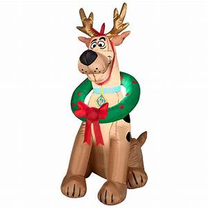 Scooby-Doo 3.5 Ft Inflatable Christmas Decoration