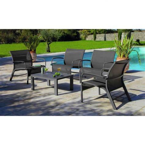 Plaire Mobilier De Jardin Aluminium A Propos de Salon De Jardin Lounge Linea  Table Basse + 4 ...