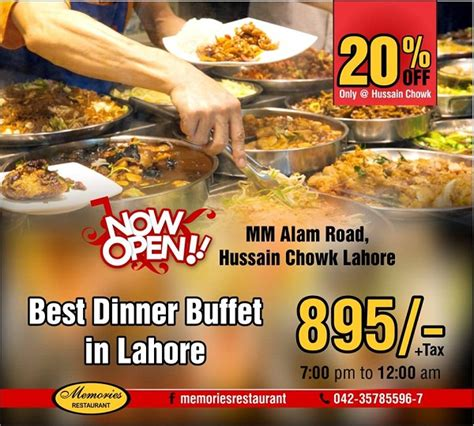 restaurants  dinner buffet  lahore dekhlaycom
