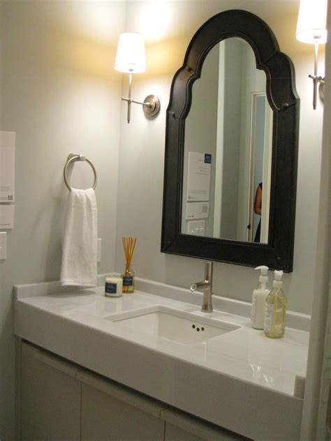 Pretty Wall Mirrors, Mirrors Over Vanity Powder Room Small