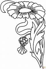 Zinnia Coloring Flower Colorare Disegni Colorear Dibujos Flor Dibujo Template Bambini Skip Imprimir sketch template