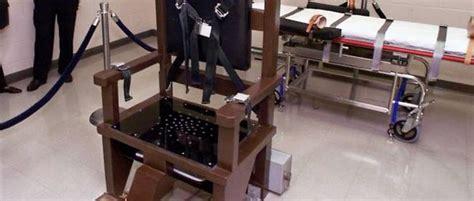 peine de mort usa chaise electrique états unis le maryland abolit presque la peine de mort