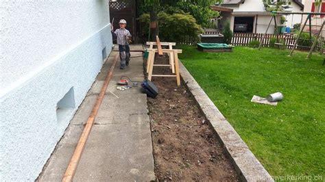 Was Ist Eine Terrasse by Ein Blumenbeet Wird Zur Terrasse Heimwerkerking