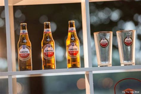 Calories In Amstel Light by Healthiest Beers For Your Tailgate Cooler Thepostgame