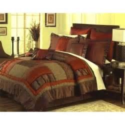 brown and burnt orange bedding bedroom ideas pictures