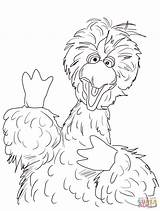 Coloring Pages Bird Sesame Street Printable Count Von Drawing Getcolorings Silhouettes Dot Main Popular sketch template
