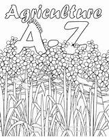 Agriculture Ffa Activities Coloring Printable Ag Education Activity Farm Colouring Farming Pages Excellent Club Emblem Classroom Books Template Alphabet Science sketch template