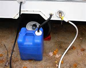 Camper RV Portable Gray Water Holding Tanks
