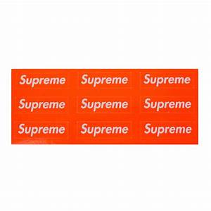 Supreme logo sticker wwwpixsharkcom images galleries for Kitchen cabinets lowes with amazon logo stickers
