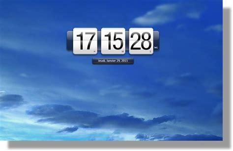 afficher bureau windows 7 afficher l horloge sur le bureau 28 images