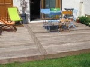 terrasse en bois idee deco veranda styledeviefr