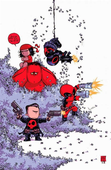 foto de Marvel Wallpapers & Arts: #09 A arte jovem de Skottie