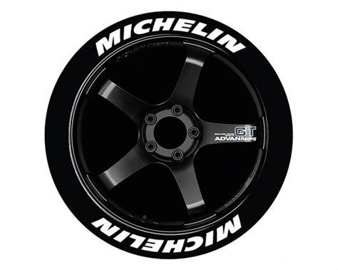 michelin logo daeck text dekaler stickers  dina faelgar