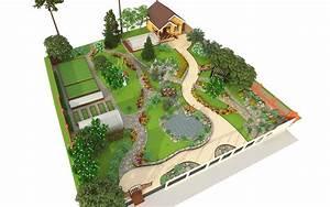 dessiner un plan de jardin With plan amenagement jardin rectangulaire