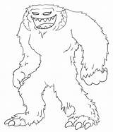 Yeti Coloring Wampa Pages Draw Wars Star Drawing Cartoon Drawings Simple Template Hoth Sketch Cartoons 632px 22kb Planet sketch template