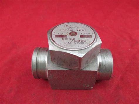 spirax sarco thermo dynamic td  steam trap process industrial surplus