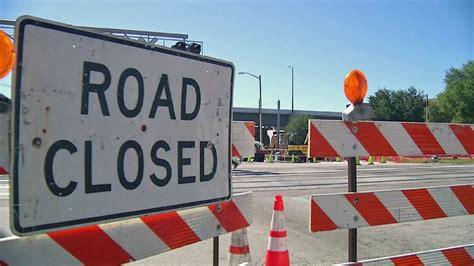 bay area road closures starting sunday due road repairs