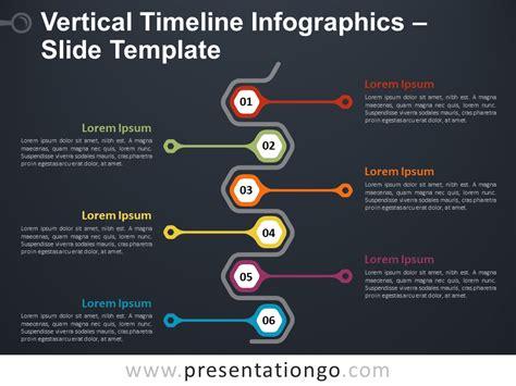 vertical timeline infographics  powerpoint  google