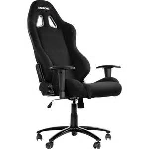 Fauteuil Informatique Gamer by Fauteuil De Gaming Akracing Gaming Chair Schwarz Noir Sur