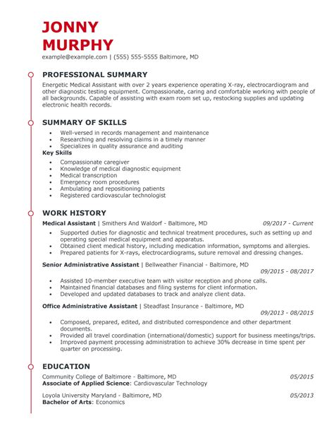 Healthcare it professional resume sample. Great Healthcare Support Resume Examples for 2020 ...