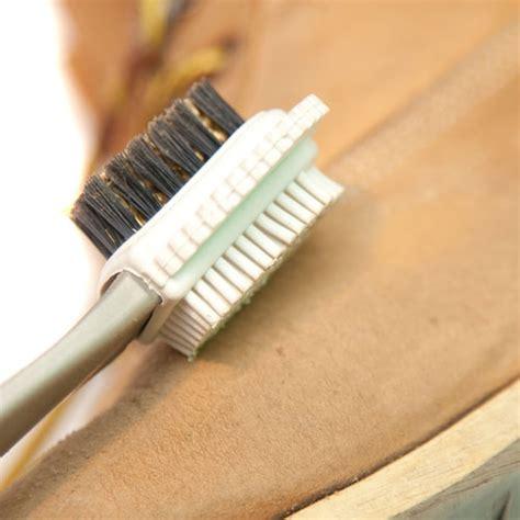 shoe care clean your shoes by nubuck brush daniela badalan prlog