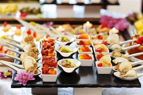 high  greek gastronomy food drink party food