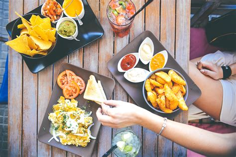 cuisine stock food salad restaurant person hd wallpaper high