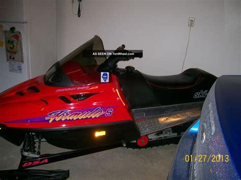 formula 3 skidoo 1996 ski doo formula s