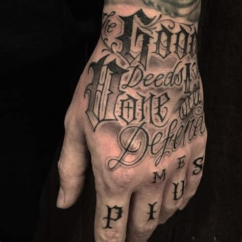 Tattoo Chicano Lettering  Best Tattoo Ideas Gallery