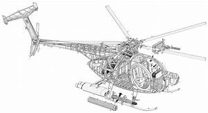 Helicopter Cutaways
