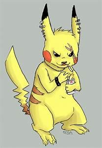 Badass Pikachu by ninja-ed on DeviantArt