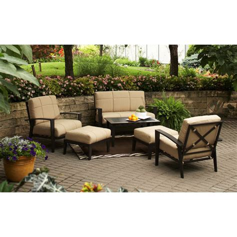 patio conversation sets walmart ii 6 patio conversation set walmart
