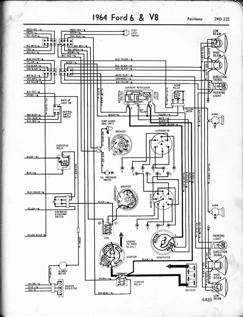 Ford Galaxie 500 Wiring Diagram by 1964 Galaxie Wiring Diagram Auto Electrical Wiring Diagram