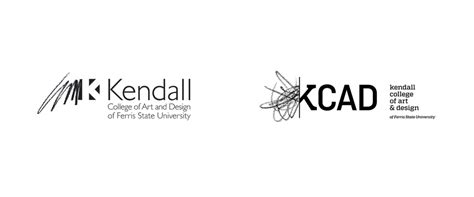 kendall college of and design brand new new logo for kendall college of and design