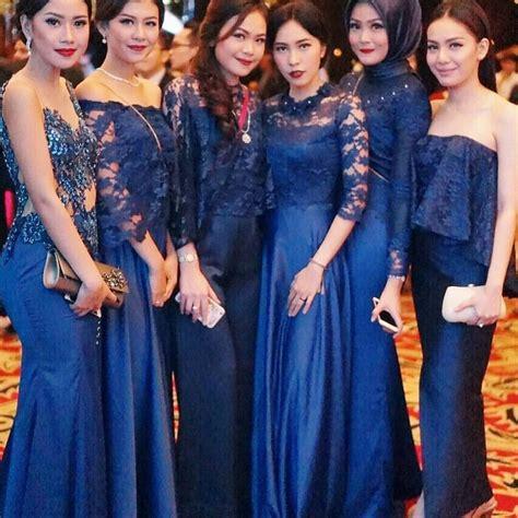dress ungu cantik 14 contoh model kebaya modern untuk ibu modis 2018