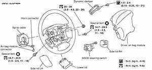 service manual 1996 infiniti i air bag removal 1996 With clock spring wiring diagram 2003 impala